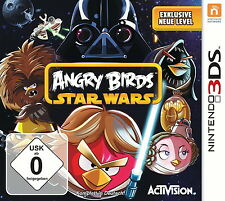 Angry Birds Star Wars (Nintendo 3DS, 2013, Keep Case)