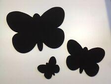 Lot de 3 papillon tableaux noirs / tableau parfait pour centres de jardins boutiques pet
