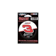 "2014 Austin Dillon #3 DOW 3"" Round Decal Wincraft 30979014"