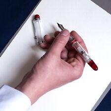 NEW+BOX Aurora 88 Limited Edition Minerali Red Demonstrator Fountain Pen M Nib