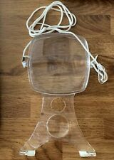 Large Plastic Low Vision Multi Magnifier Magnifying Glass on Nylon Lanyard