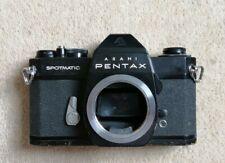 Asahi Pentax Spotmatic SP ii Black Vintage 35mm Film Camera SLR