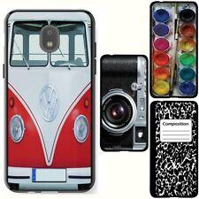 for Samsung Galaxy J7v 2018/Refine/Aero/Star/Crown(Black)TPU Phone Case Cover-H