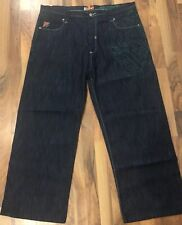 Akademiks Mens Jean Size 44 With Embroidered Design #587