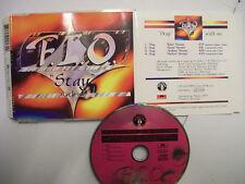 F.L.O. Stay With Me – 1995 German CD Maxi-Single – Euro House – V RARE!