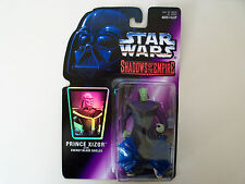 """STAR WARS """"SHADOWS OF THE EMPIRE"""" PRINCE XIZOR WITH ENERGY BLADE SHIELDS FIGURE"""