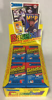 1989 Donruss Baseball Cards Unopened Sealed Wax Pack From Wax Box, 15 Cards/Pack