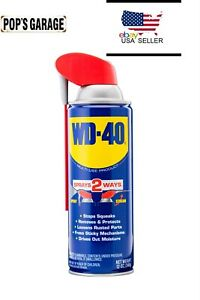 WD-40 Multi-Use Product, Multi-Purpose Lubricant with Smart Straw Spray, 12 oz