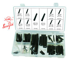 Swordfish 31190 - 120pc Black Oxide Finish Spring Steel Roll Pin Assortment