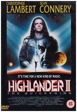 Highlander 2 - The Quickening [DVD] Region 2 Christopher Lambert, Sean Connery,