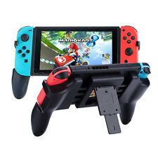 Comfort Nintendo Switch Hand Grip Handle with Stand Support and Game Card Slots