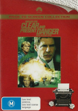 Clear And Present Danger - Action / Thriller / Drug - Harrison Ford - NEW DVD