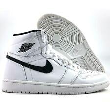 Nike Air Jordan 1 Retro High OG Ying Yang White Black 555088-102 Men's 8.5