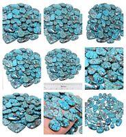 Turquoise Natural Gemstone Mix Size Cabochon Fine Loose Wholesale Lot ZA-8 Sale