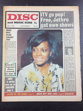 DISC and Music Echo Feat Diana Ross & More: July 11, 1970