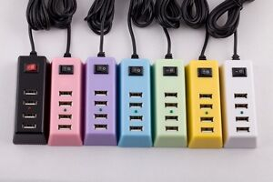 NEW ANP 2.1A Wall Charger Adapter 4 USB Ports US Plug for USB Charging Devices