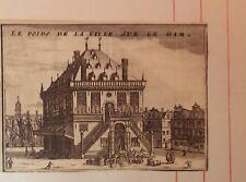 Netherlands/ Holanda.Le poids de la Ville sur le Dam. Christyn, J. B.,  1711.