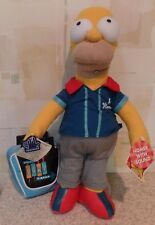 The Simpsons Talking Homer Doll w/ Bowling Bag & Shirt Applause MINT New  2001