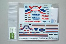 1/12 Honda NSR500 Rothmans W. Gardner '85 Rider Decal for Tamiya Fujimi