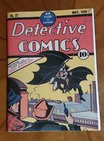 Batman Detective Comics # 27 1939 Golden Age Replica Edition ☆☆☆☆  Mint