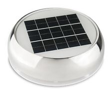 Marinco N20803S Stainless Steel Solar Powered Passive Vent 3 Inch Day/Night