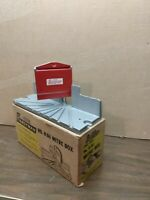 Stanley Hand  Mitre Box Model H114 in Original Box.