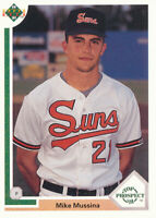Mike Mussina 1991 Upper Deck #65 Baltimore Orioles RC Rookie Card