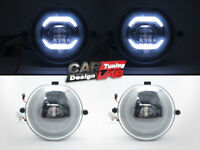LED Halo Ring Daytime Running Fog Lights Assembly For MINI COOPER S F54 F55 F56