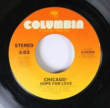 Rock 45 Chicago - Hope For Love / Another Rainy Day In New York City On Columbia
