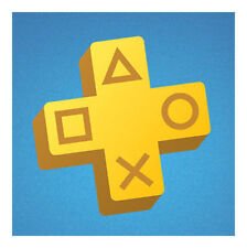Sony PlayStation Plus 1 Year Subscription Membership Card