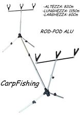 rodpod carpfishing per 3 canne da pesca carp fishing rod pod cavalletto carpa