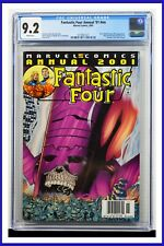 Fantastic Four Annual '01 #nn CGC Graded 9.2 Marvel 2001 White Pages Comic Book
