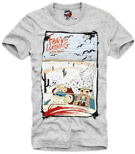 E1SYNDICATE T SHIRT REN AND STIMPY FEAR AND LOATHING IN LAS VEGAS LSD TRIP 4460