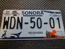 USA Nummernschilder Mexico Sonora
