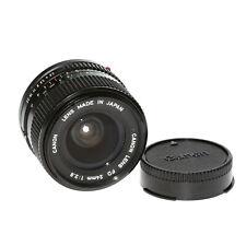Canon Fd Lente 24mm 1:2,8 Lente Gran Angular de Vendedor