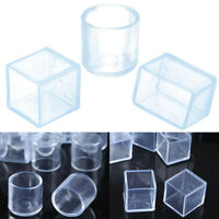 24 Rubber Furniture Foot Table Chair Leg End Caps Covers Tips Floor Protectors