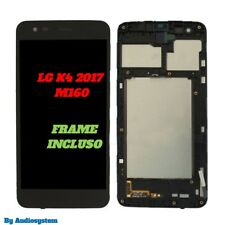 P1 DISPLAY LCD+ TOUCH SCREEN+FRAME COVER per LG OPTIMUS K4 2017 M160 NERO VETRO