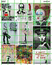 6007 DAVE'S DECALS MODERN URBAN STREET ART POSTER GRAFFITI SOCIAL REMARKS SIGNS