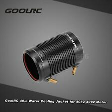 GoolRC Aluminum 40-L Water Cooling Jacket Cover for 4082 RC Boat Motor U3Q0