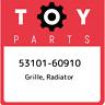 53101-60910 Toyota Grille, radiator 5310160910, New Genuine OEM Part