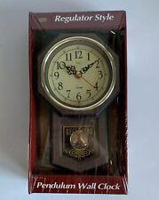 Tozai Regulator Style Pendulum Wall Clock New Sealed