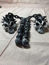 Halloween 2 Morning Star Mace replica spiked skulls 1995 Rubies costume prop