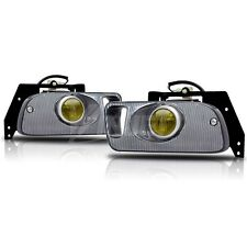 SET OF 2 YELLOW FOG LIGHTS FITS 1992-95 HONDA CIVIC 2/3DR (Wiring Kit included
