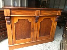 More details for victorian mahogany chiffonier / sideboard