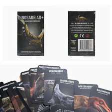 Dinosaur 4D+ Cards augmented reality Flashcards for kids boys & girls education