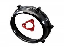 Ducati Panigale 959 1199 1299 CNC Racing Clear Clutch Cover & Spring Retainer bl