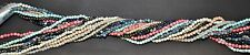 "Twist A Beads 1980's Original Necklaces 34-36"" strands Bead Assortment 10"