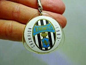 Vintage Juventus Football Club 1983 Champion Key Ring