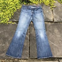 Citizens of Humanity Womens Ingrid 002 Stretch Low Waist Flair Jeans Size 28