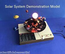 SOLAR SYSTEM  APPARATUS MOTORIZED - ASTRONOMY GEOGRAPHY TEACHING AID MODEL
